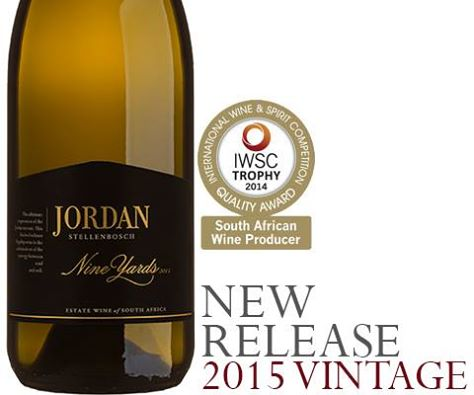 Jordan releases 2015 Nine Yards Chardonnay photo