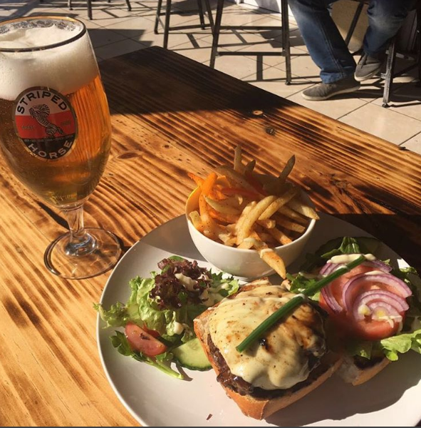 Enjoy a Striped Horse Pilsner and a Burger at the Loft on Kloof for only R65 photo