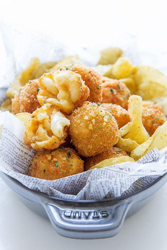 Fried Mac and Cheese Balls photo