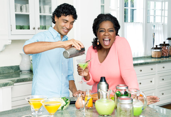 Oprah Winfrey saves her Weight Watchers points for Tequila and Wine photo
