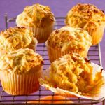 Banana and bacon muffins photo
