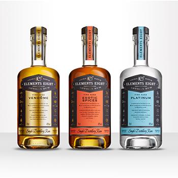 Elements Eight Rum Re-imagines Range photo