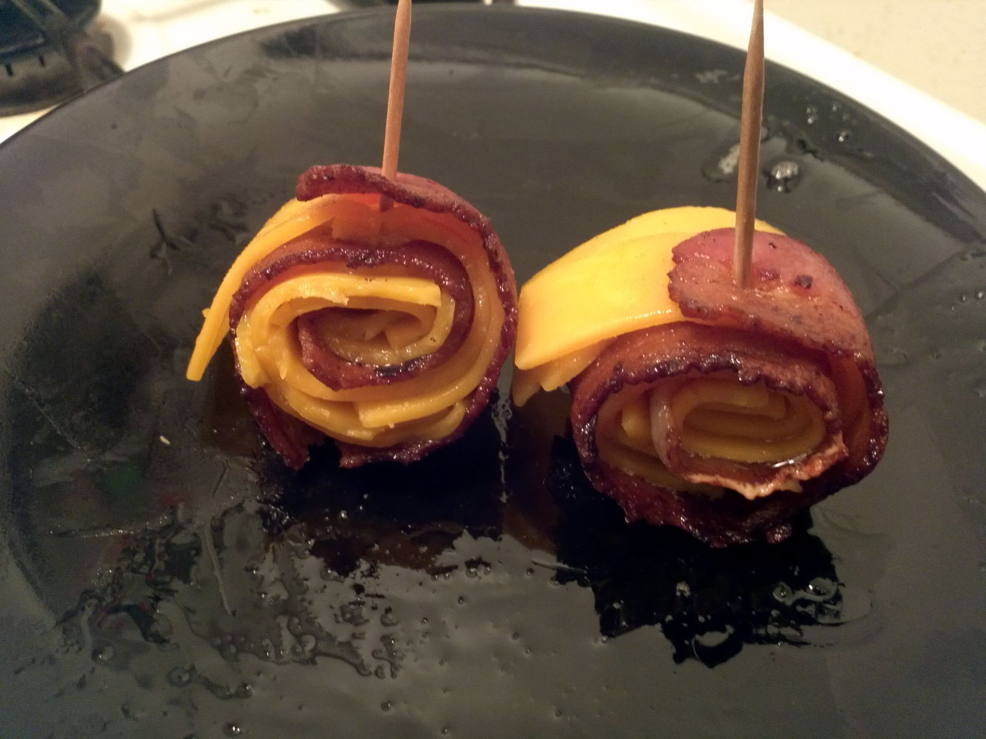 Bacon Cheese Rollies photo