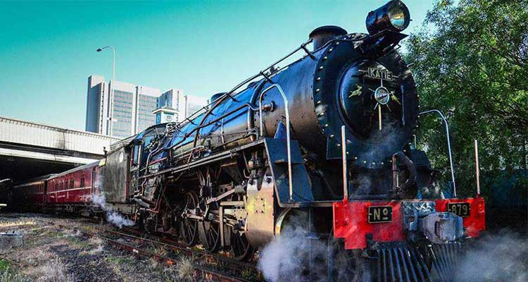 All aboard! Ride a Steam Train to the Winelands photo
