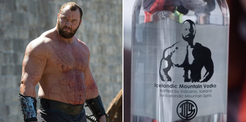 The Mountain?s Amazing New Alcohol Is Basically A ?game Of Thrones? Vodka photo