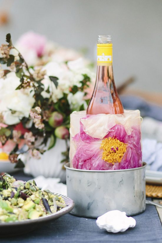 This Is The Prettiest Wine Cooler We've Ever Seen photo