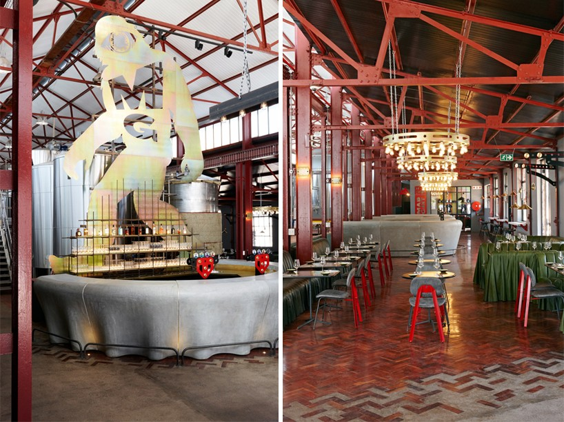 Haldane Martin Transforms Disused Warehouse For Mad Giant Beer Brewery In Johannesburg photo