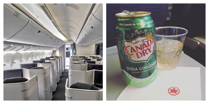 The Real Reason We All Love To Order Ginger Ale On Planes photo