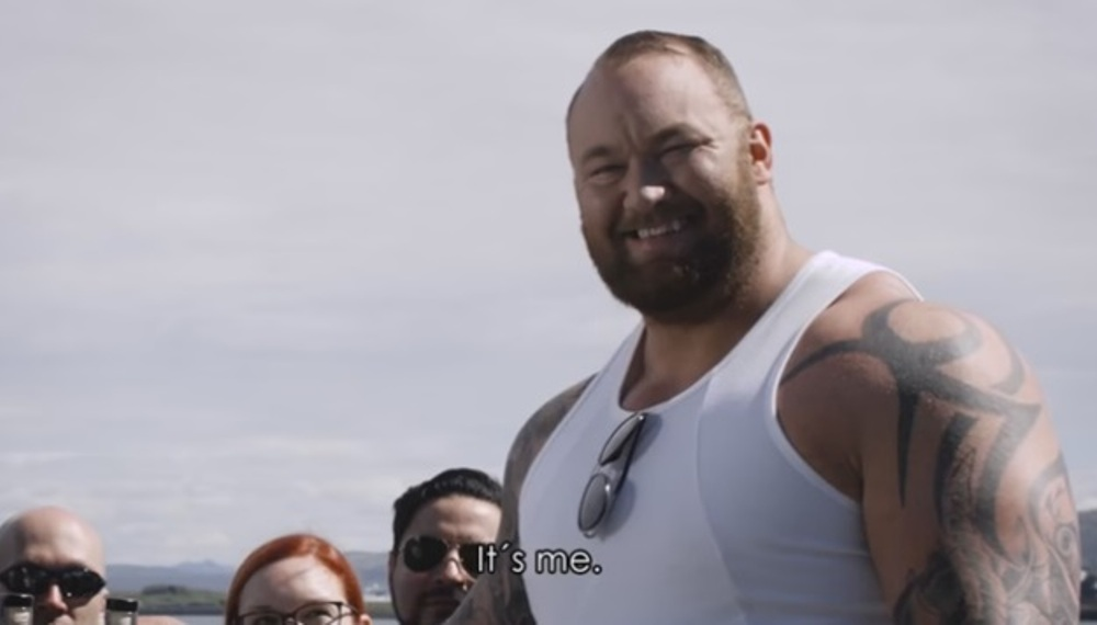 The Mountain From Game Of Thrones Launched His Own Icelandic Vodka, Wins The Internet [video] photo