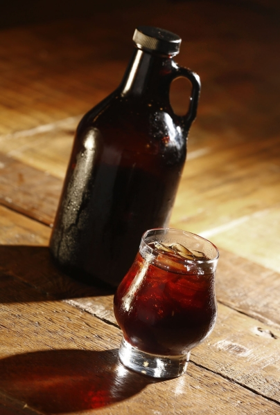 Want more caffeine, less bitterness? Try cold brewing coffee photo