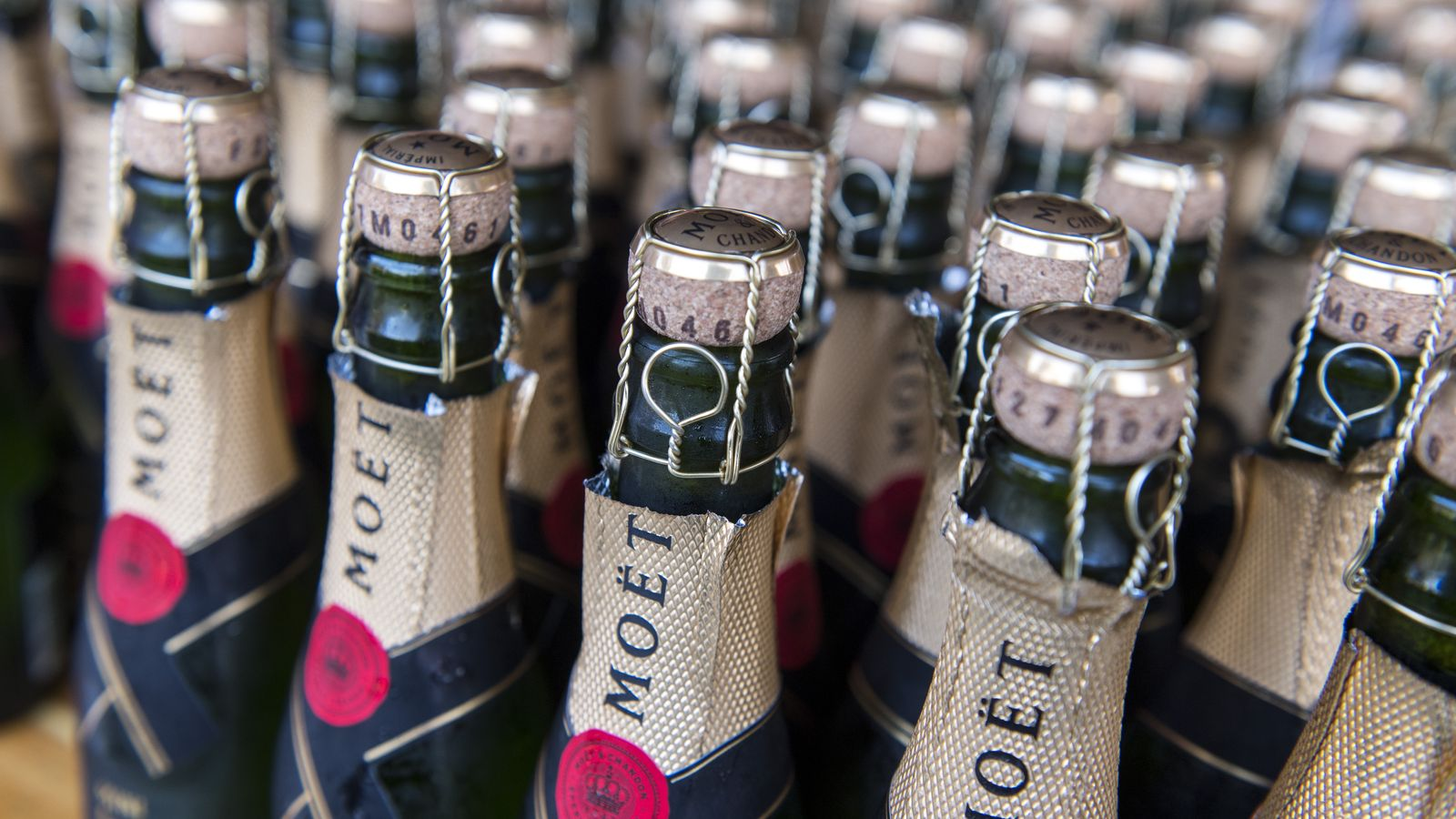 Champagne Makers Warn of a Looming Shortage photo