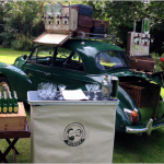 Brighton duo turn classic car into a gin bar photo