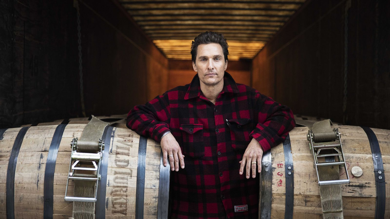 Matthew McConaughey Is the New Face of Wild Turkey Bourbon photo