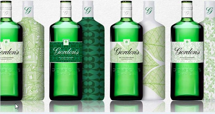 Gordon's Gin unveils new bottle design photo