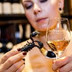 The world's first guide to matching INSECTS and wine photo