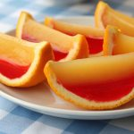 How to make Tequila Sunrise Orange Slice Jell-O shots photo