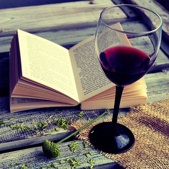 Six Classic Novels That Are Better With A Glass Of Red Wine photo