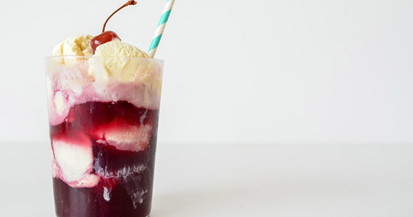 Introducing Wine Ice-Cream Floats photo