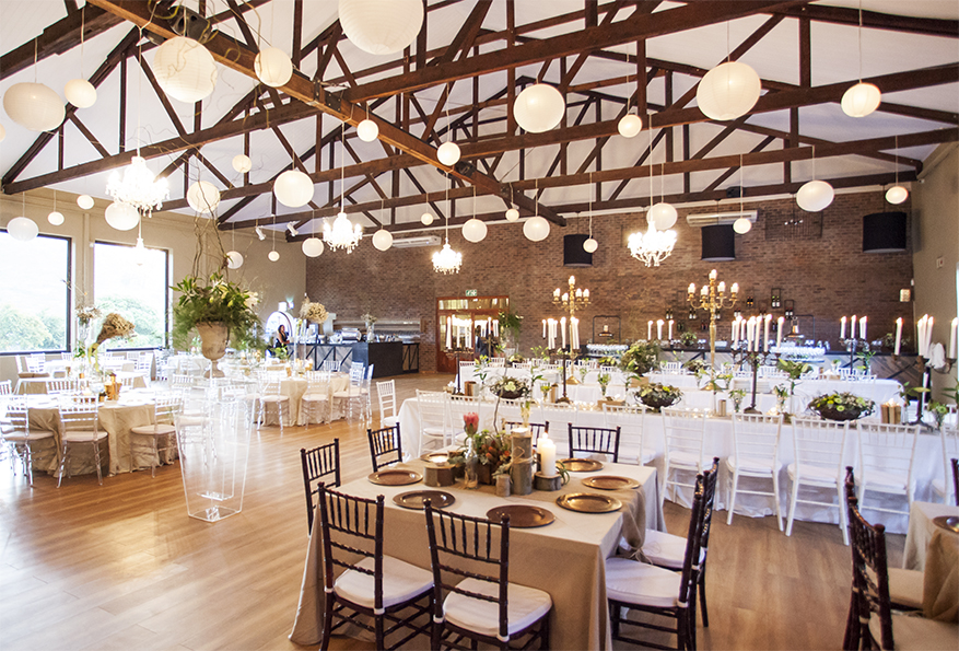 The Franschhoek Cellar offers a beautiful location for the perfect wedding day photo