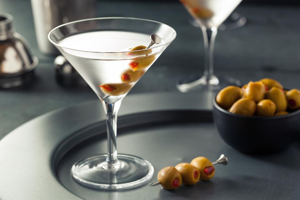 How to pit olives for your next Martini photo