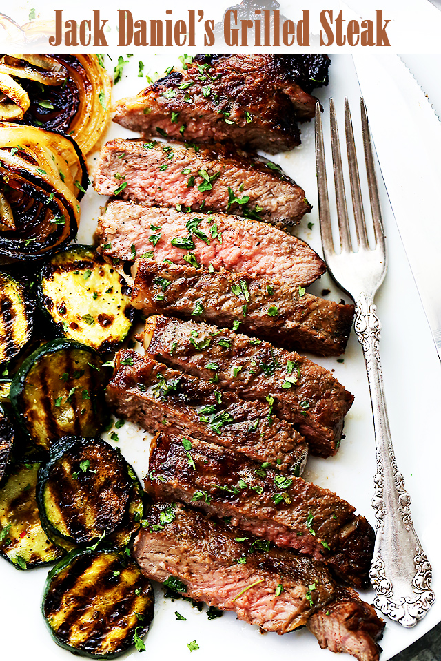Jack Daniel`s Grilled Steak Recipe photo