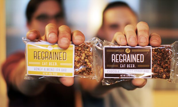 The perfect hangover cure? Californian company makes snack bars from beer photo