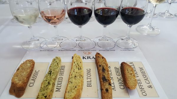 De Krans in Calitzdorp introduces South Africa`s first Biscotti and Wine tasting photo