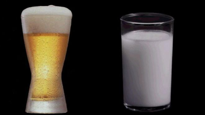 Study confirms that beer is healthier for you than milk photo
