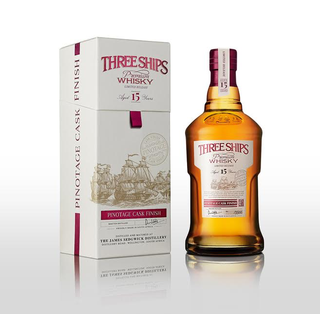 Three Ships Whisky launches the world`s first Pinotage finish Whisky photo
