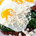 Egg, Spinach, Quinoa and Feta Power Breakfast photo