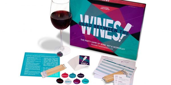 This wine board game drinks Cards Against Humanity under the table photo