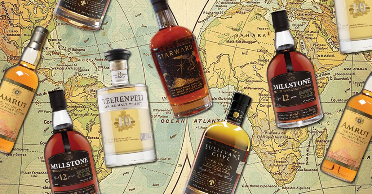5 Whiskeys from Highly Unlikely Countries photo