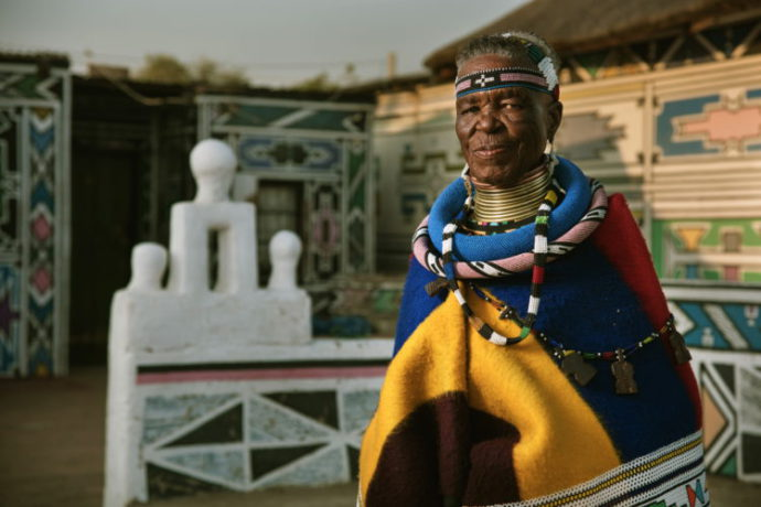 Getting To Know Esther Mahlangu photo