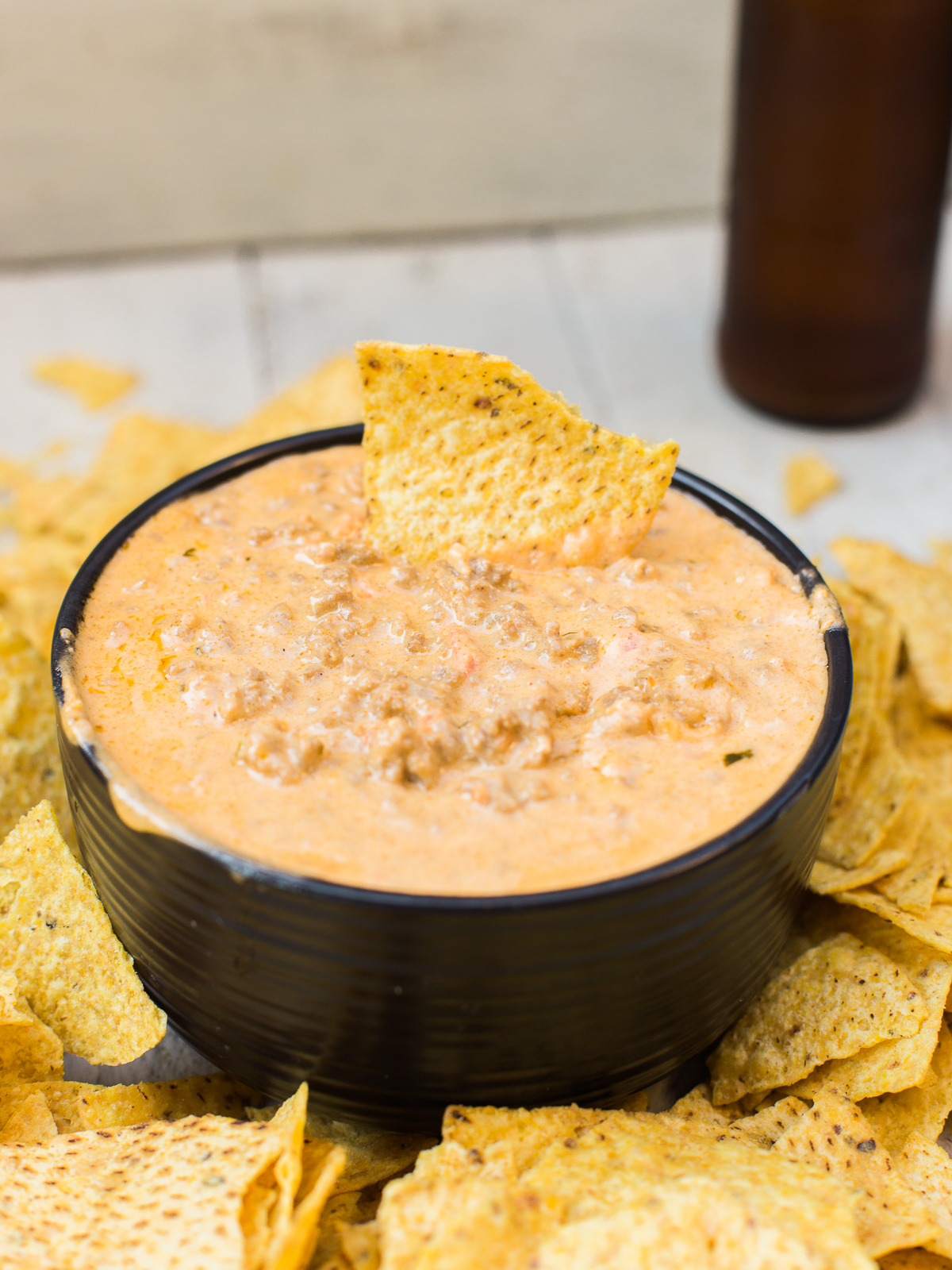 Cheesy Taco Beer Dip 9 10 Fun Tacos to try on Taco Day