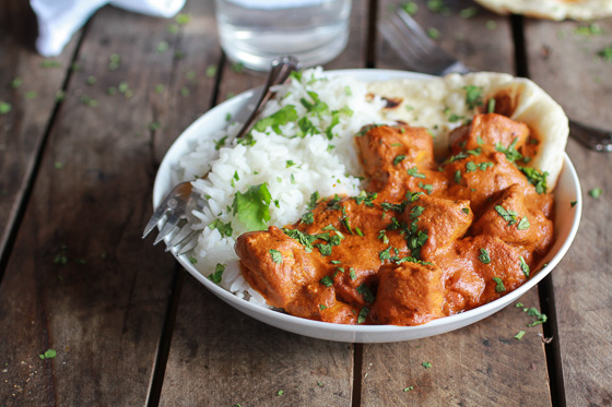 Restaurant Style Butter Chicken made in a Slow Cooker photo