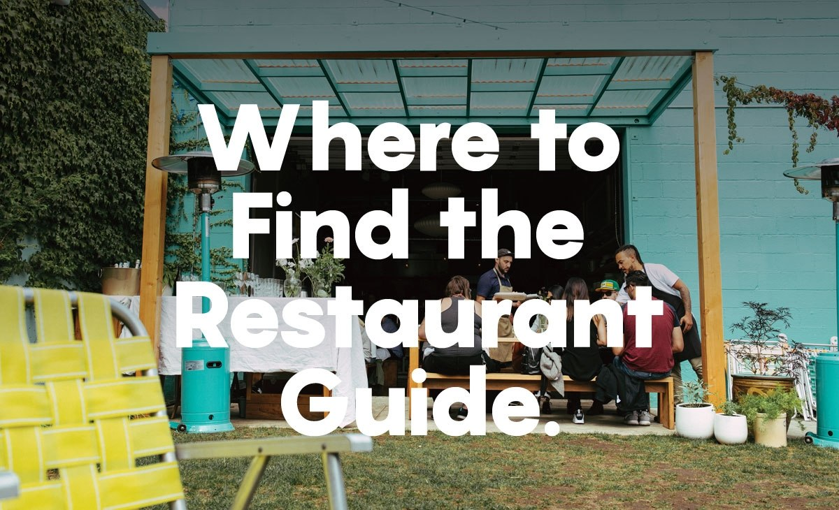 Where To Find The 2016 Restaurant Guide photo