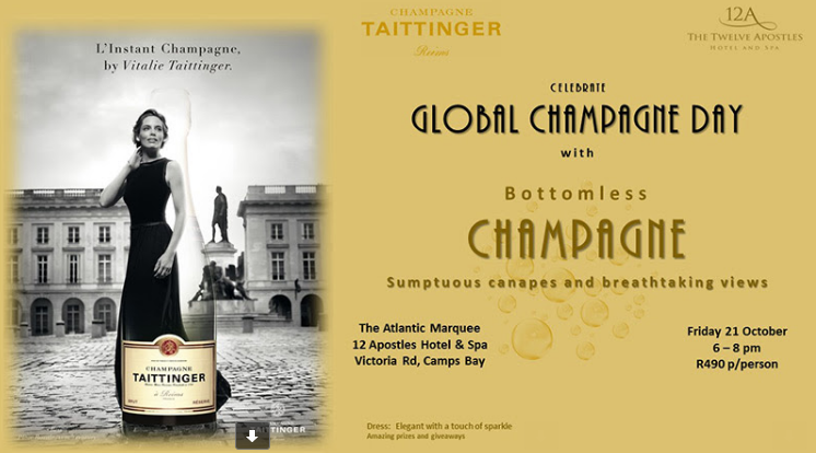 Celebrate Global Champagne Day with Taittinger photo