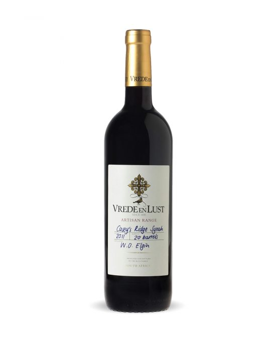 Wine Review: Vrede en Lust Artisan Range Casey`s Ridge Syrah 2013 photo