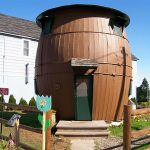 The house that`s made out of barrels photo
