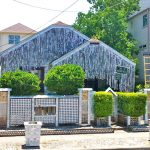 Over 50 000 cans were used to build the Beer Can House photo