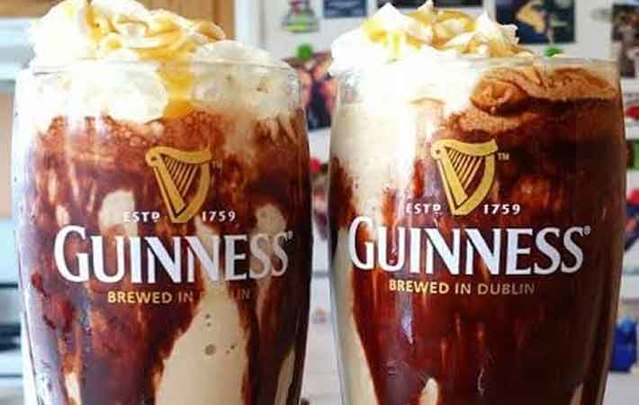 This Guinness Ice Cream Float is out of this world ...