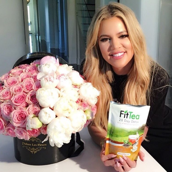 The Tea Drawer of Khloe Kardashian is the stuff dreams are made of photo