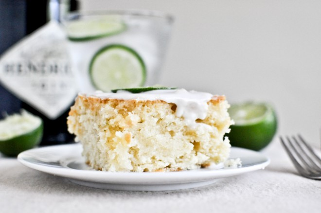Gin and Tonic Cake | How Sweet It Is photo