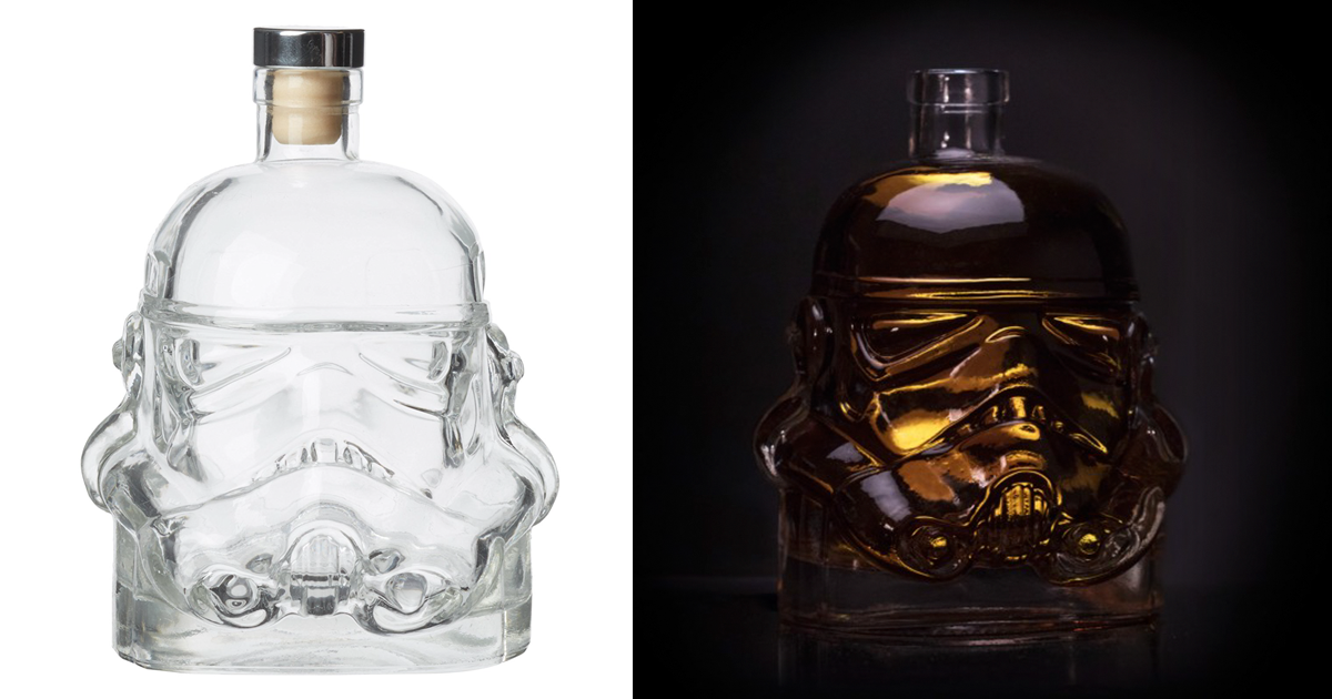 Storm Trooper Whiskey Decanter photo