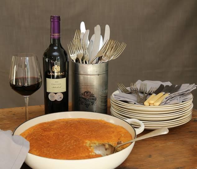 Venison Pie and Pinotage Recipe photo