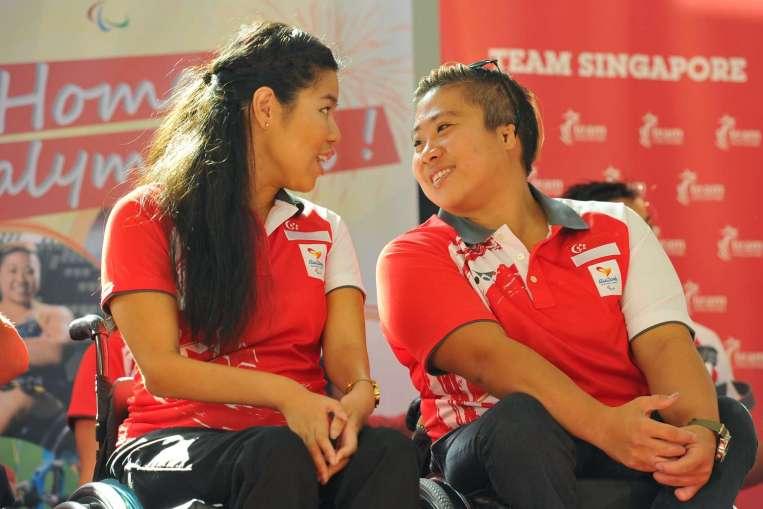 Paralympians Yip Pin Xiu And Theresa Goh Pun Their Way Through Supermarket Jaunt, Singapore News & Top Stories photo