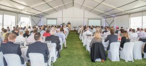 Jay McInerney Speech at Celebration of Chardonnay photo
