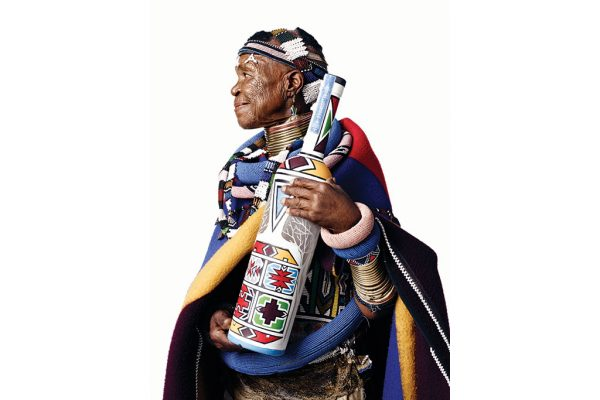 Belvedere has released a limited-edition Vodka inspired by Ndebele Art photo