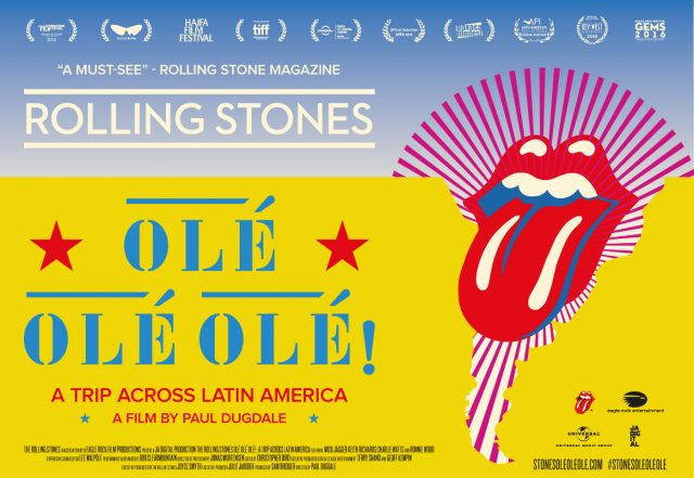 South American estates @BodegaArgento and @BodegaGarzon will sponsor the @RollingStones film premiere photo