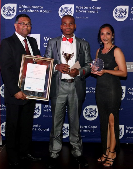 Riebeek Cellars employee wins Best Potential category at 2016 Prestige Agri Worker Awards photo